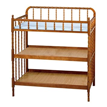 Delta Childrenu0027s Products Vintage Chic Jenny Lind Changing Table In Oak  (Discontinued By Manufacturer)