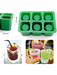 CheckOut 6-Cups Silicone Shooters Ice Cube Glass Shot Freeze Mold Maker Mould Tray Party deal