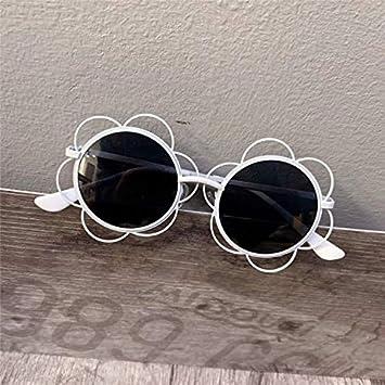 ERTMJ Kinder Runde Sonnenbrille Kinderform-Sonnenbrille-M/ädchen Der Dekorativen Pers/önlichkeitssonnenbrille Der Kinder Niedlicher Spielzeugglasrahmen