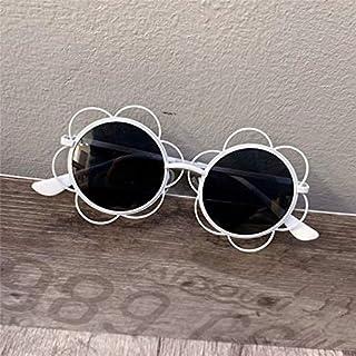 ERTMJ Occhiali da Sole Rotondi per Bambini Cornice di Occhiali da Sole per Bambini Giocattolo Carino Occhiali da Sole personalità Ragazze Occhiali da Sole Decorativi personalità dei Cartoni Animati