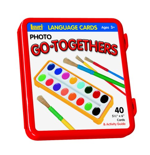 PlayMonster Lauri Photo Language Cards - Go-Togethers (Toys Language)