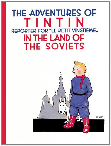 Book cover for Tintin in the Land of the Soviets