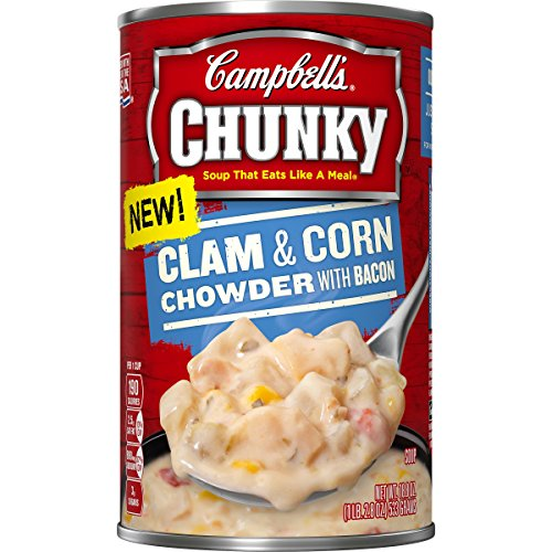 Campbell Group s Chunky Soup, Clam & Corn Chowder with Ba...