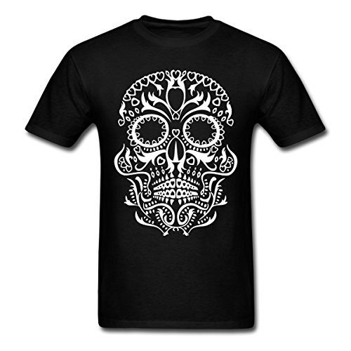 Tattoo Style Sugar Skull T Shirts Christmas Gifts For