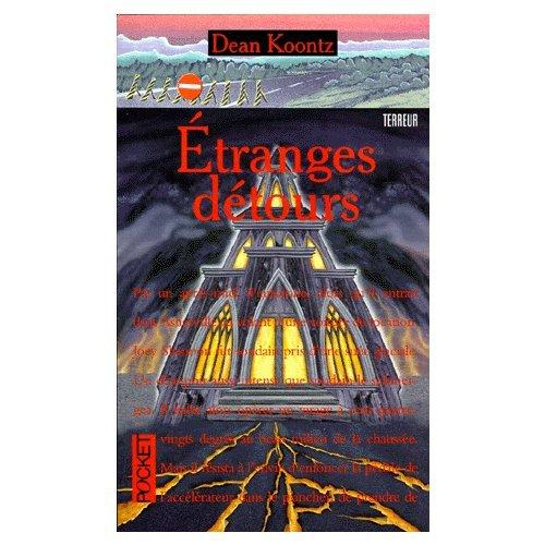 Couverture de Les etranges detours