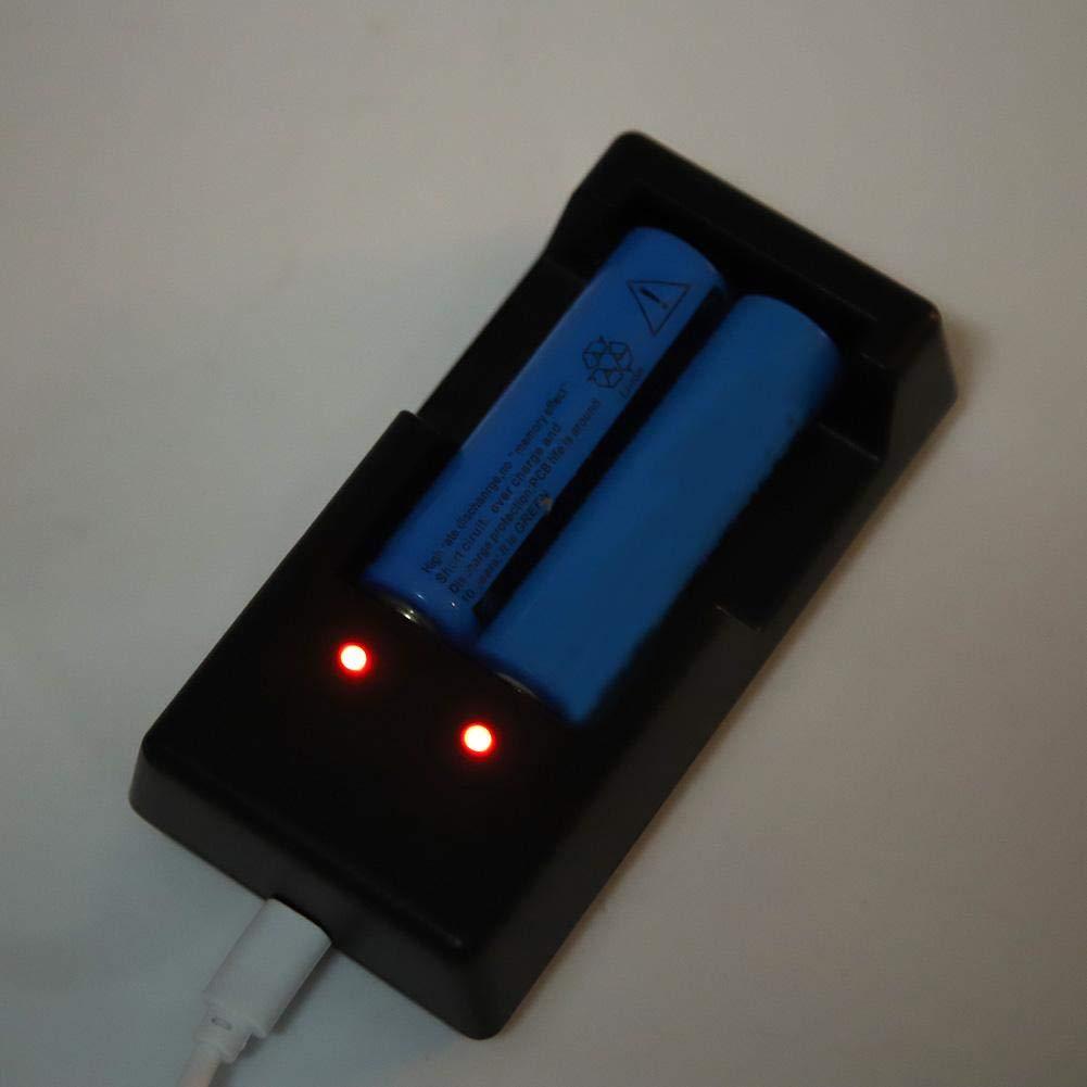 Nouveau Chargeur de Batterie Li-ION 18650 Multifonction V6 Multifonction pour Lampe de Poche Riuty Chargeur Intelligent de Batterie