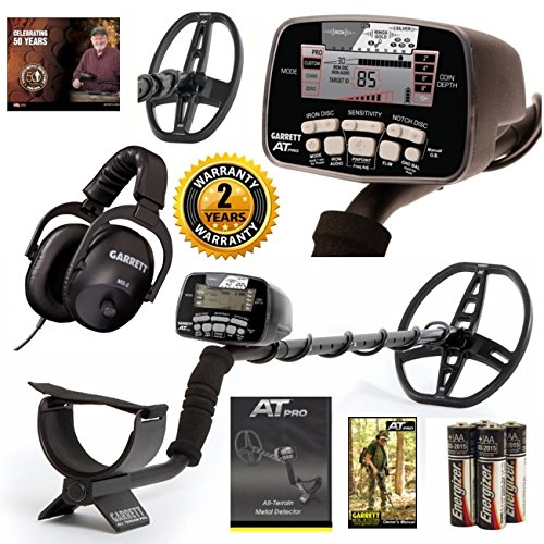 Garrett AT Pro Metal Detector Coil Combo Hunters Package For Sale