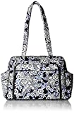 Vera Bradley Women's Stroll Around Baby Bag, Snow Lotus