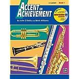 Accent on Achievement, Bk 1: E-flat Alto Saxophone, Book and CD