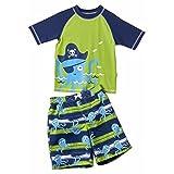 Wippette Boys 2-Piece Rashguard Swimwear, Sun