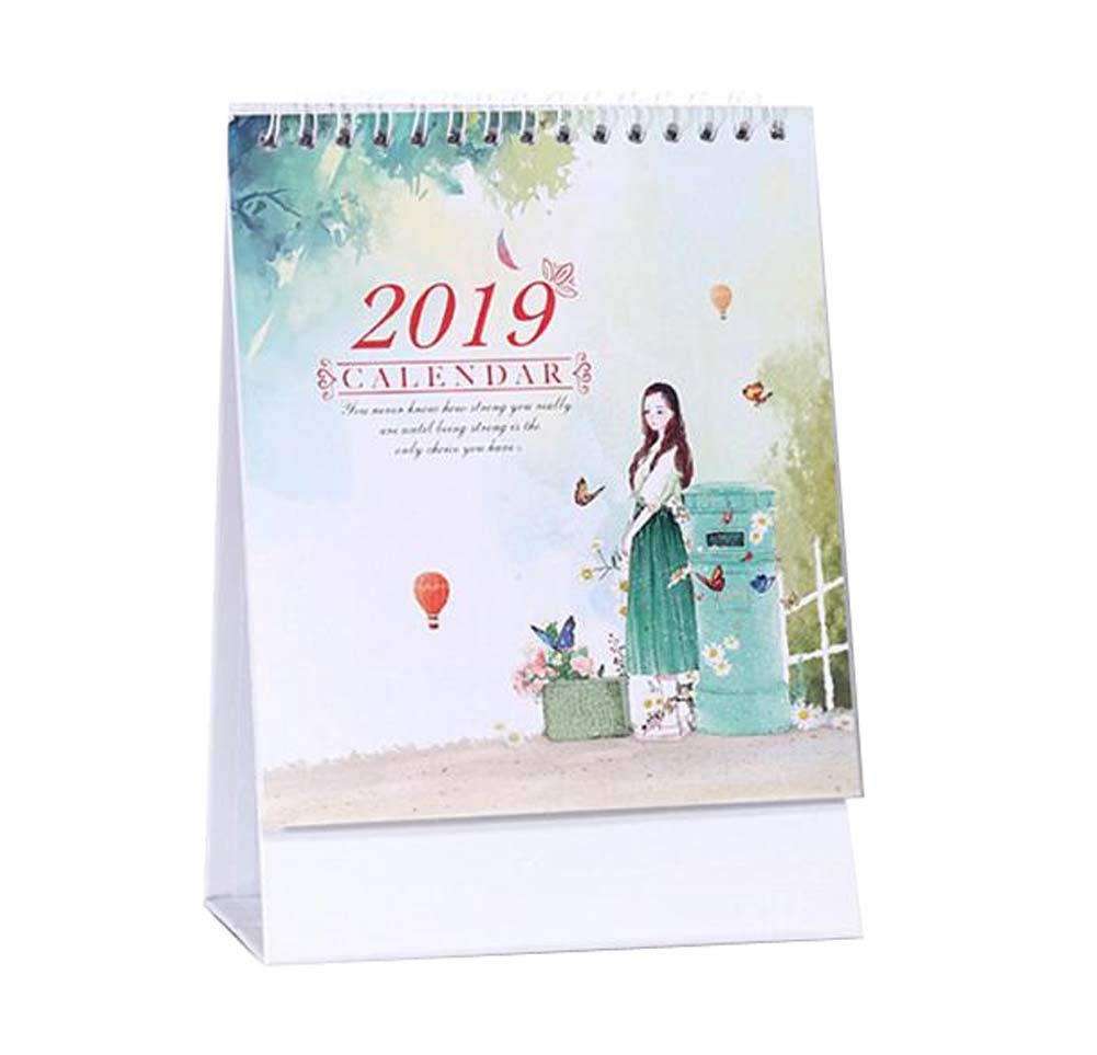 Monthly/Daily Schedule Notebook,2018-2019 Office/Home/School Calendar,C05