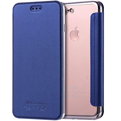 iPhone JDBRUIAN Leather Wallet Protection