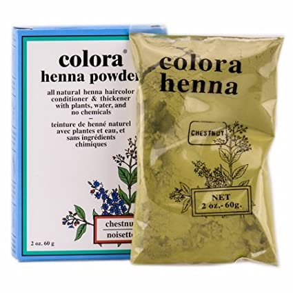 Value Pack Of 3 Colora Henna Powder Natural Organic Hair Color 2oz