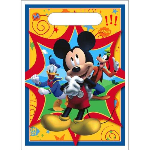 Disney Mickey Mouse Clubhouse Treat Sacks 8pk 8 Disney Mickey Mouse Clubhouse