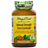 MegaFood - Adrenal Strength, Supports Resistance to Fatigue and Stress, 60 Count