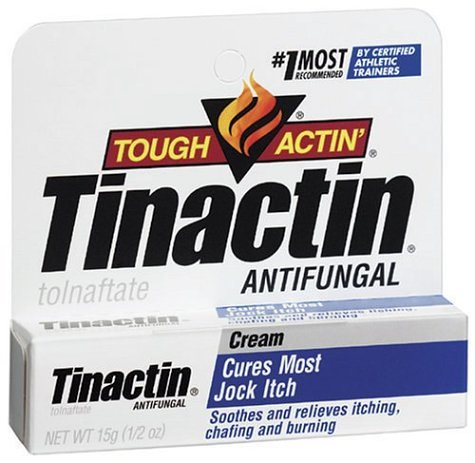 Tinactin Antifungal Jock Itch Cream, .5-Ounce Tubes (Pack of 3) by Tinactin