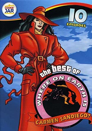 Amazon.com  Best of Where on Earth is Carmen Sandiego  Carmen ... 5f5c5dfa3d22