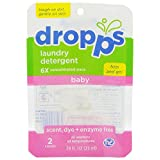 Dropps Baby Laundry Detergent Pacs, 2 Count