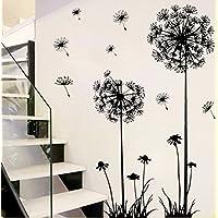 Revesun Dandelion Home D¨¦cor Wall Sticker Paper Stickers For Living Room