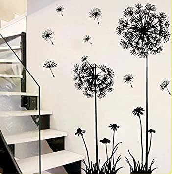 Revesun Dandelion Home Décor Wall Sticker Paper Stickers For Living Room Part 43