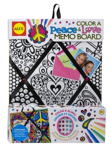 Alex Toys Board (ALEX Toys Craft Color A Peace and Love Memo)