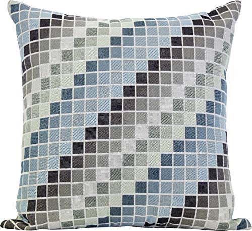 (Urban Loft by Westex Westex Tetris Cool Feather Filled Decorative Throw Pillow Cushion, 20