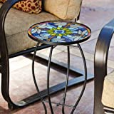 Tiffany Inspired Dragonfly Glass Table