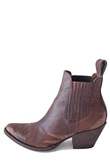 Gaucho Long Stitch Brass Womens Boots BL2497-4