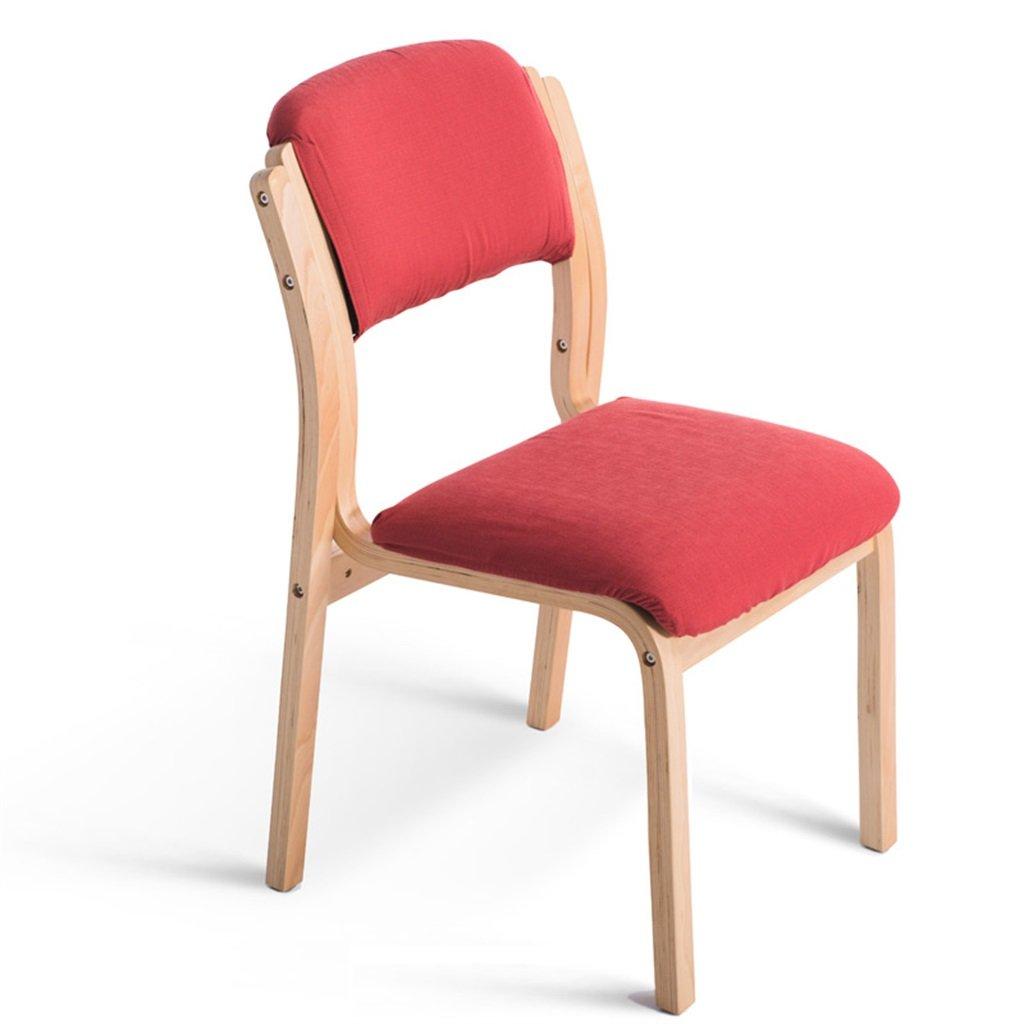 背もたれ付きの木製の椅子は、机のお食事のために使用されていますホーム&商業コンシェルジュスタイルの装飾用のメイクアップチェア B076JB8RQY