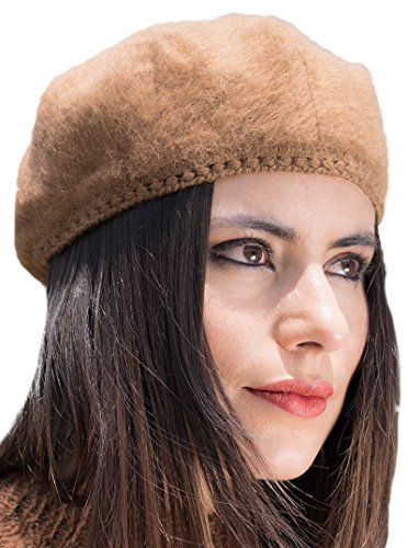Alpaca Beret (Brown)