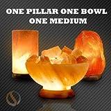 One Pillar, One Bowl, One Medium - Himalayan Salt Lamp Special (3 Lamps)
