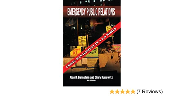 Amazon emergency public relations crisis management in a 30 amazon emergency public relations crisis management in a 30 world ebook alan b bernstein and cindy rakowitz kindle store fandeluxe Gallery