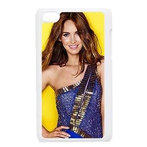 Megan Fox Actress Poses Wide funda iPod Touch 4 caja funda del teléfono celular blanco cubierta de la caja funda EEECBCAAJ04648