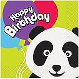 Panda Birthday Party Napkins, 16ct