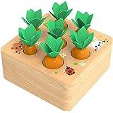 XIAPIA Juguetes Montessori 1 Años,Juguetes de Madera Niños Juego de Clasificación Rompecabezas Juguetes Educativos…