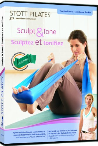 Stott Pilates Sculpt and Tone + Flex-Band DVD by STOTT PILATES