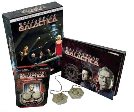 Battlestar Galactica: Season 4.0 - Limited Edition Gift Set by Universal Studios