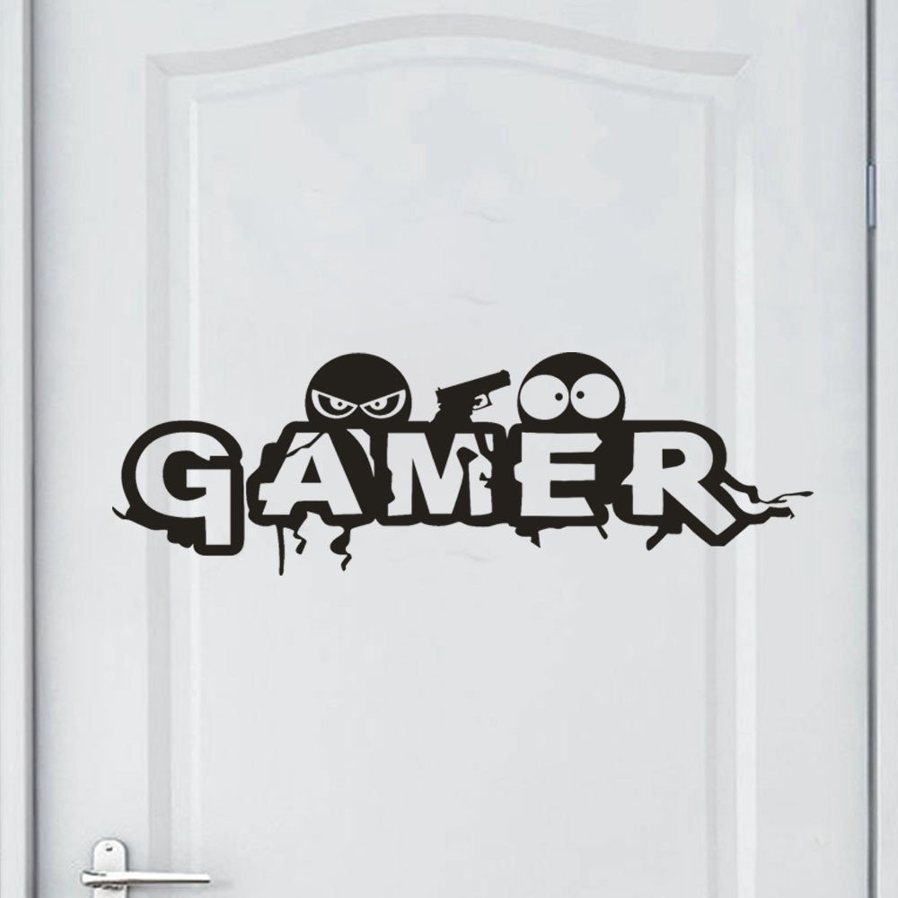 Euone Wall Sticker, Gamer Removable Art Vinyl Mural Home Decor Wall Stickers (A) by Euone (Image #1)
