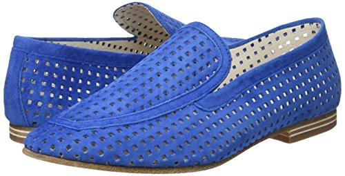 Lottusse Mocasines Para loafer velour S9473 Azul Mujer Perf Denim rRvxnrSO
