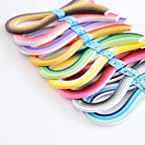 Paper Quilling Strips Set,36 Colors 900 Strips