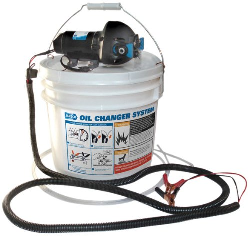 Jabsco 17850-1012 DIY Engine Oil Change System, 3.5 Gallon Capacity, 12 Volt (Jabsco Oil Change System)