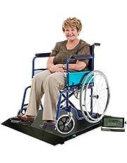 NEW Digital Portable Floor Wheelchair Scale Platform with built-in Ramp