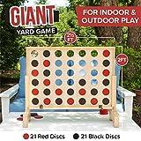 Play Platoon Giant Wooden Drop 4 Outdoor Game