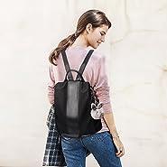 Charmore Women Backpack Purse Waterproof Nylon Schoolbags Anti-theft Rucksack Shoulder Bags
