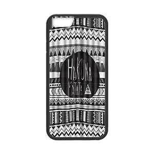 Custom Case Hakuna Matata for iPhone 6 Plus 5.5 Inch X3G9238380