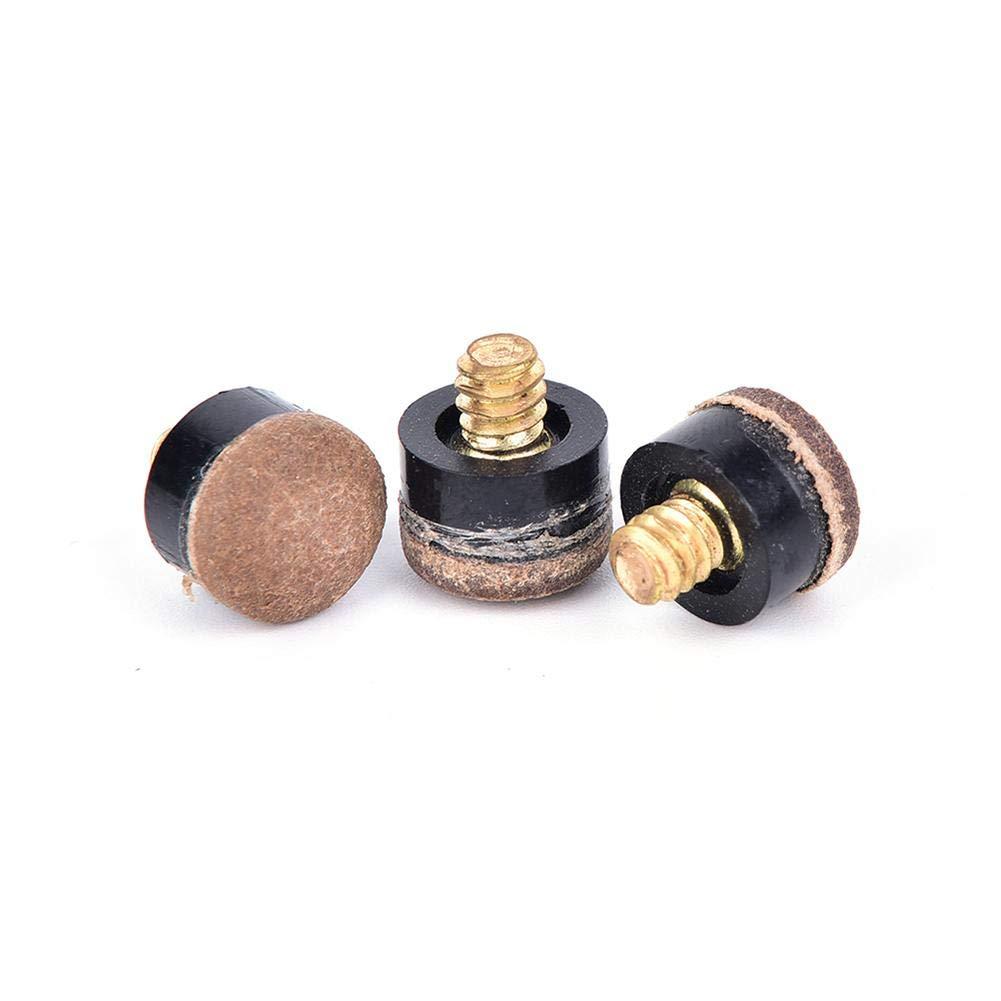Febelle Lot de 10 Embouts de Queue /à Visser pour Billard ou Billard 12 mm