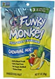 Funky Monkey Snacks Carnaval Mix, Freeze-Dried Fruit, 1-Ounce Bags (Pack of 12)