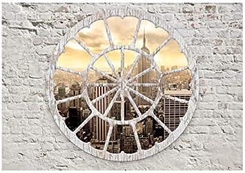 murando Papier peint intiss/é 100x70 cm D/écoration Murale XXL Poster Tableaux Muraux Tapisserie Photo Trompe loeilTableaux muraux d/éco XXL ville New York plage d-A-0008-a-b