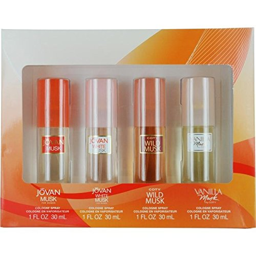 Coty Omni Collection For Women By Coty 4 Pc. Gift (Jovan Set)
