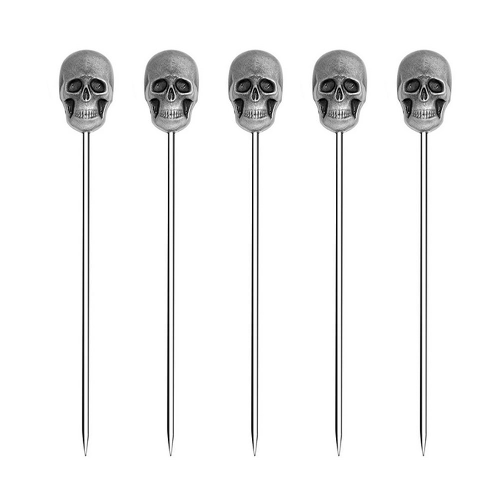 ROOS Creative Cocktail Decoration Fruit Stick Cocktail or Martini Pick Pack of 5 (Diamond Shape) COMIN18JU049102